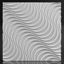 3d панель из гипса Volume