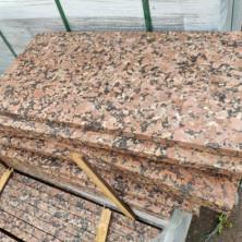 Гранитная плитка 600*300*30 мм. термо, Южно-Султаевский