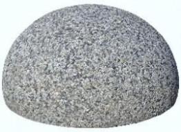 Полусфера бетонная 400х300