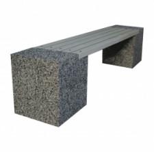 Скамейка бетонная ЕВРО-2