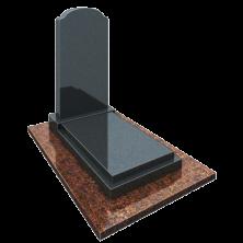 Памятник с плитой