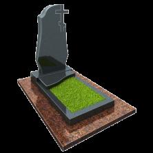Памятник на могилу из гранита в сборе