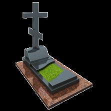Памятник на могилу из гранита КРЕСТ