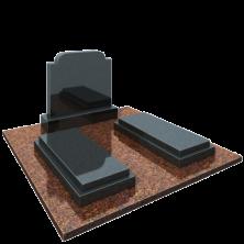 Памятник семейный в комплекте с плитами