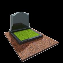 Памятник на могилу из гранита семейник