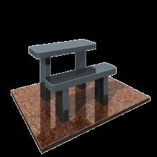 стол и лавка на могилу
