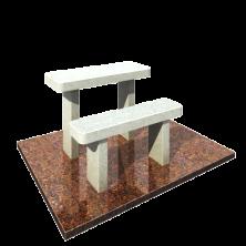 Стол и лавочка на могилу