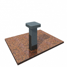 стол на могилу из гранита