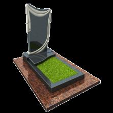 Памятник на могилу из гранита Эксклюзив