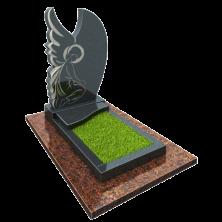 Памятник на могилу из гранита Ангел