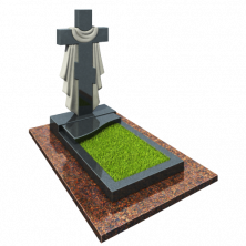 Памятник Крест с плащаницей