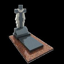 Памятник Крест с плитой в сборе
