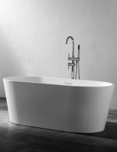Ванна акриловая отдельностоящая, 140х70 см, белый