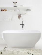 Ванна акриловая отдельностоящая, 170х70 см,