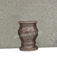 Гранитные вазы. Полированные точеные вазы из камня