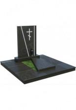 Мемориальный комплекс  из гранита с крестом