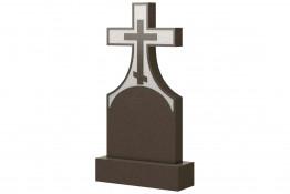 Вертикальный памятник на могилу с Крестом
