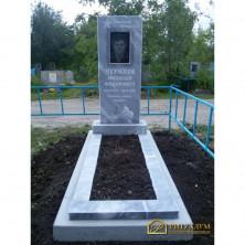 Памятник из мрамора - Прямой