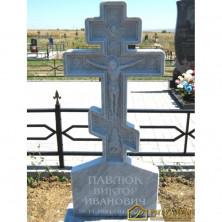 Резной памятник Крест