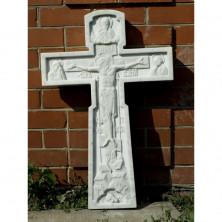 Крест из мрамора резной