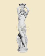 Бетонная скульптура для фонтана Скульптура Нереида