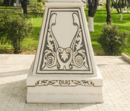 Постамент под Поклонный крест