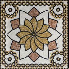 Гранитная и мраморная мозаика