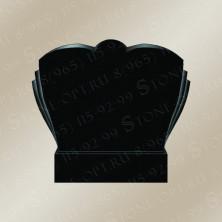 Горизонт-плечики резные из Shanxi Black