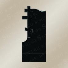Памятник резной из Shanxi Black. Крест