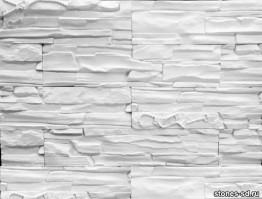 Декоративный камень Альпы белые ключи