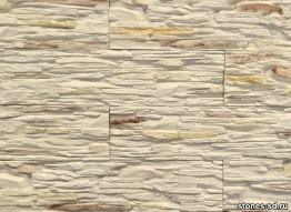 Декоративный камень Сланец бежево-коричневый