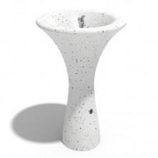 Креативные фонтаны. BITUMA Trinkwasser Brunnen Beton