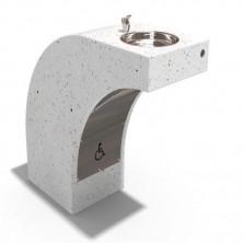 Умывальник для инвалидов. BITUMA Trinkwasser Brunnen Beton