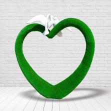 "Рамка ""Сердце с голубями"""