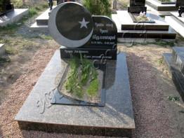 Памятник на могилу из гранита. Комбинированный