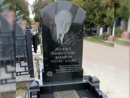 Памятник на могилу из гранита с портретом