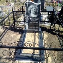 Памятник на могилу. Габбро