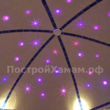 Звездное небо для хамама. 100 точек. Калейдоскоп