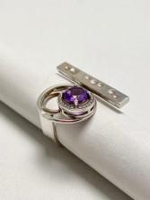 Кольцо (аметист)