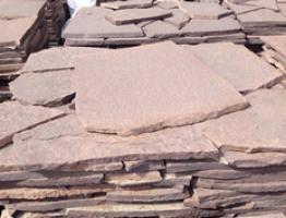 Плитнняк лемезит Толщина камня 40 мм. 1 поддон = 20 м2
