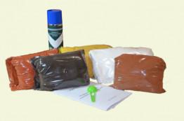 Железооксидные пигменты 4 цвета по 1 кг. (Комплект) (Япония)