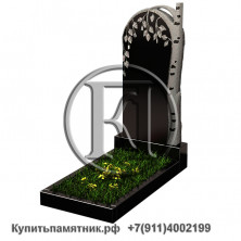 Памятник фигурный - Березка  100/50/8