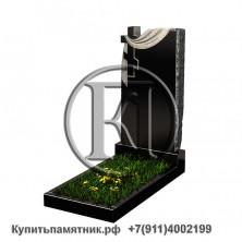 Памятник - Скала с крестом и плащаницей 100/50/8