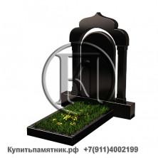 Памятник на могилу из гранита - Мусульманский