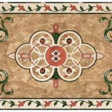 Мраморный ковер мозаика пол
