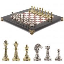 Шахматы из камня «Римская колонна» (28 х 28 см)