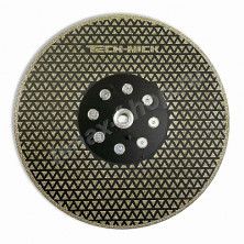 Алмазный диск Ø230xМ14 гальванический отрезной