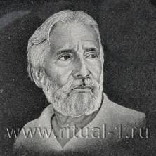 Портрет (ручная гравировка)