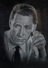 Портрет - ручная гравировка