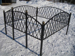 Ограда Монастырская вязь